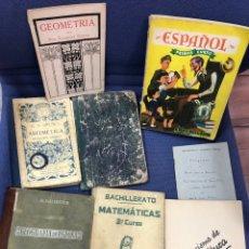 Livres anciens: LOTE LIBROS DE TEXTO AÑOS 30 EN ADELANTE. Lote 277511193