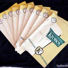 """Libros antiguos: CURSO DE RELOJERÍA POR CORRESPONDENCIA """"KRONOS"""". Lote 278500698"""