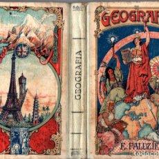 Libros antiguos: ESTEBAN PALUZIE : GEOGRAFÍA PARA NIÑOS SEGUNDO GRADO (1928). Lote 278617643