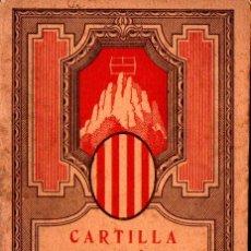 Libros antiguos: CARTILLA D' ARITMETICA PRIMER I SEGON GRAUS (1931) ILUSTRADO A DOS COLORES - EN CATALÁN. Lote 278617993