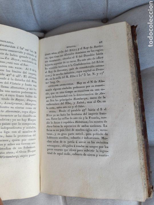 Libros antiguos: Principio de geografía física y civil ,de 1807 - Foto 2 - 285243838