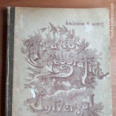 Libros antiguos: ATLAS GEOGRÀFICO UNIVERSAL. SALVADOR SALINAS BELLVER. EDICIÓN 1955. Lote 286692563