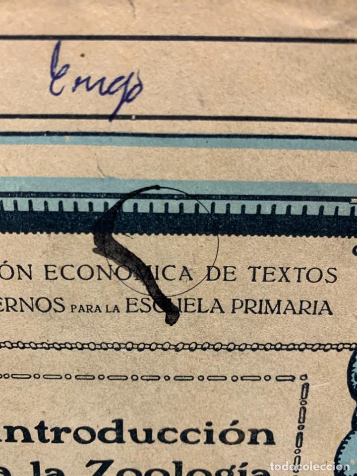 Libros antiguos: INTRODUCCION A LA ZOOLOGIA ED INDUSTRIAS GRAFICAS SEIX & BARRAL HERMS 23X18CMS - Foto 4 - 287996533