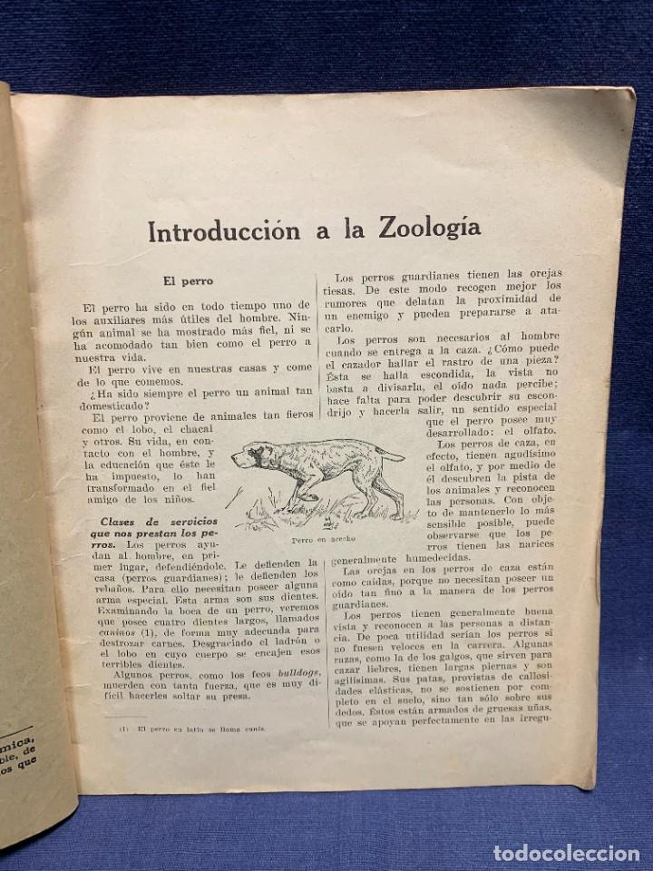 Libros antiguos: INTRODUCCION A LA ZOOLOGIA ED INDUSTRIAS GRAFICAS SEIX & BARRAL HERMS 23X18CMS - Foto 6 - 287996533