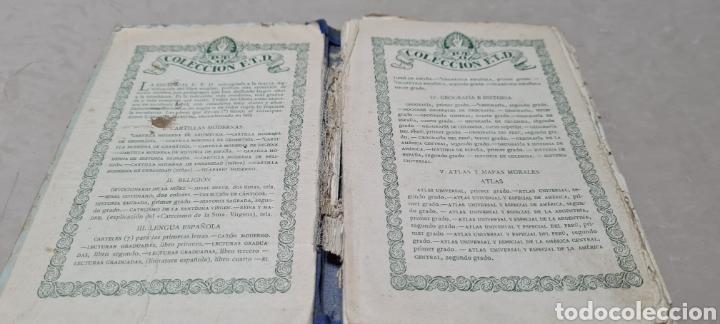 Libros antiguos: Precioso libro de Gramàtica Española segundo grado. Editorial F.TD - Foto 6 - 288416223