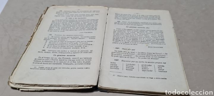 Libros antiguos: Precioso libro de Gramàtica Española segundo grado. Editorial F.TD - Foto 8 - 288416223