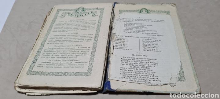 Libros antiguos: Precioso libro de Gramàtica Española segundo grado. Editorial F.TD - Foto 9 - 288416223
