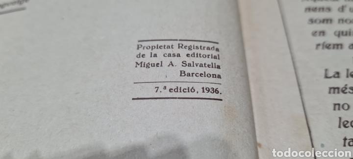 Libros antiguos: Preciosa libro de lectura en catalán. Petites llavors. Anicet Villar. Miquel A. Salvatella. - Foto 6 - 288417263