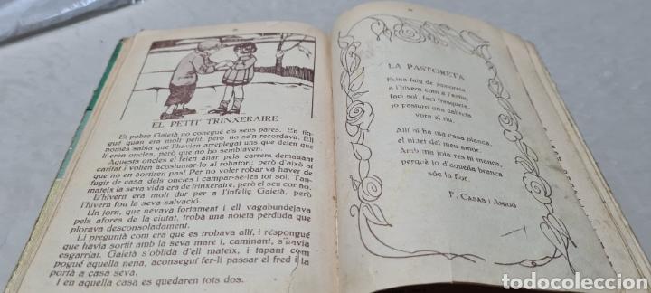 Libros antiguos: Preciosa libro de lectura en catalán. Petites llavors. Anicet Villar. Miquel A. Salvatella. - Foto 8 - 288417263
