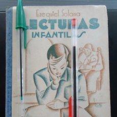 Libros antiguos: LIBRO VINTAGE LECTURAS INFANTILES MADRID 1935 ESCUELA MAESTRO COLEGIO LITOGRAFIA REPUBLICA ESPAÑOLA. Lote 288430148