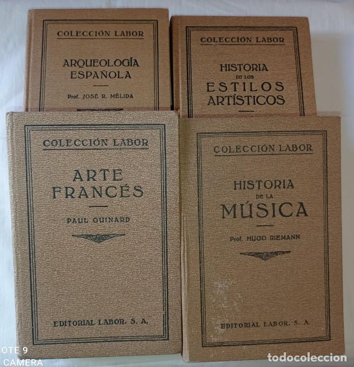 4 LIBROS ANTIGUOS COLECCION LABOR (Libros Antiguos, Raros y Curiosos - Libros de Texto y Escuela)