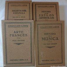 Libros antiguos: 4 LIBROS ANTIGUOS COLECCION LABOR. Lote 288512478