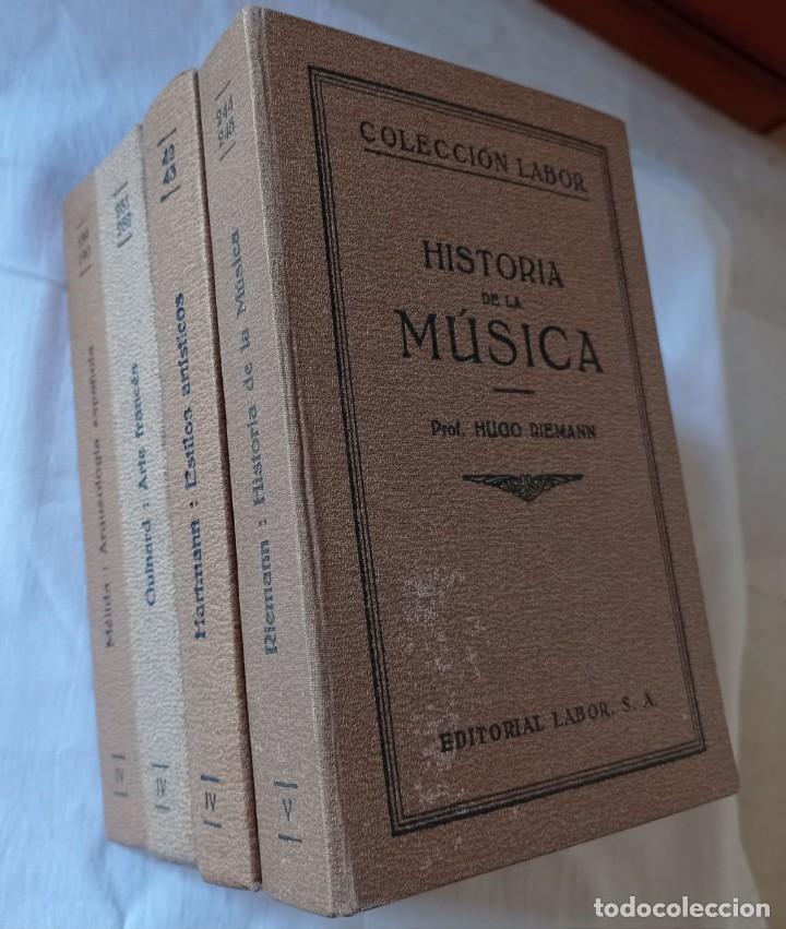 Libros antiguos: 4 LIBROS ANTIGUOS COLECCION LABOR - Foto 2 - 288512478