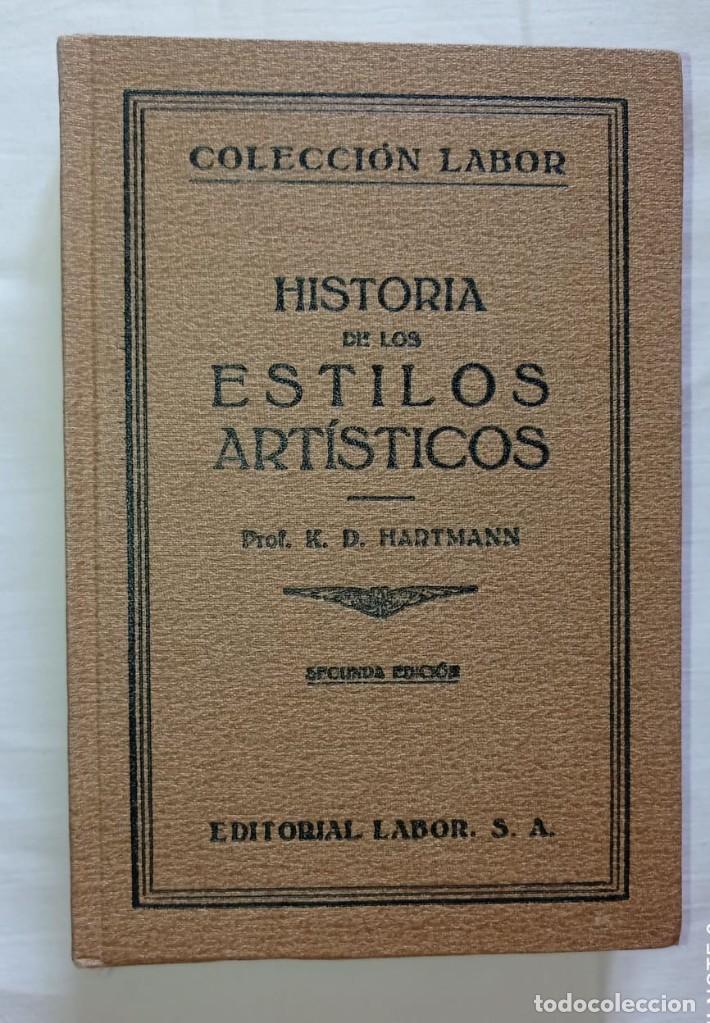 Libros antiguos: 4 LIBROS ANTIGUOS COLECCION LABOR - Foto 3 - 288512478