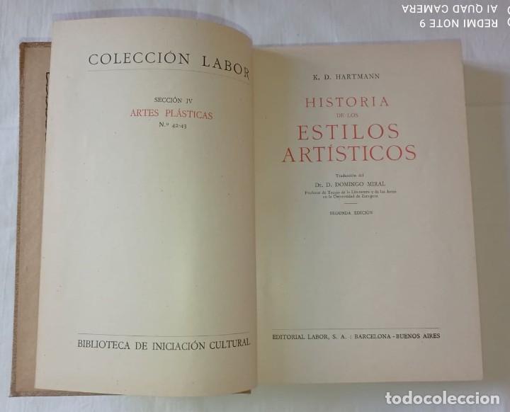 Libros antiguos: 4 LIBROS ANTIGUOS COLECCION LABOR - Foto 4 - 288512478