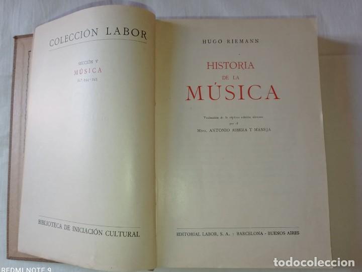 Libros antiguos: 4 LIBROS ANTIGUOS COLECCION LABOR - Foto 7 - 288512478