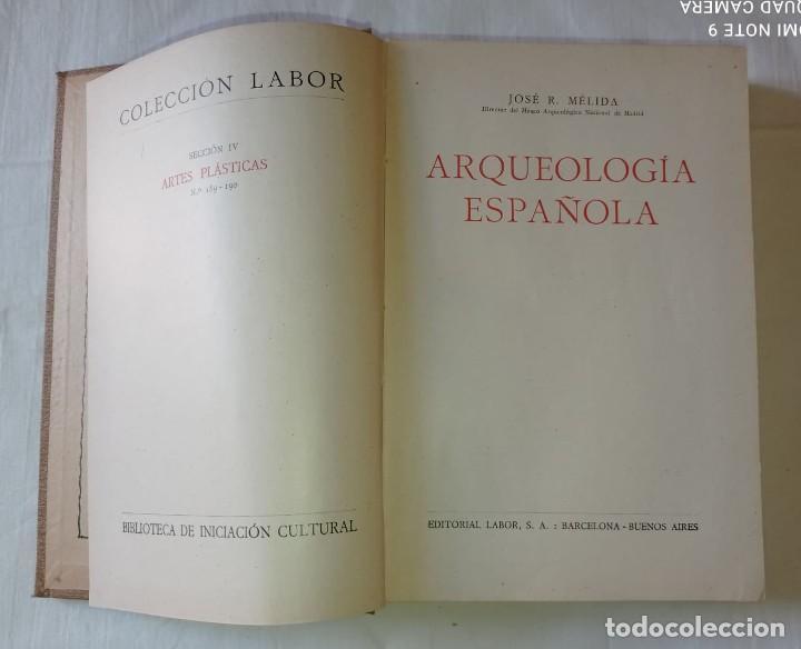 Libros antiguos: 4 LIBROS ANTIGUOS COLECCION LABOR - Foto 15 - 288512478
