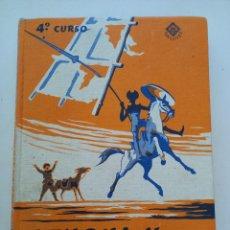 Libros antiguos: LENGUA ESPAÑOLA CUARTO CURSO EDELVIVES.. Lote 288538933