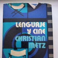 Libros antiguos: LENGUAJE Y CINE.. Lote 288632498