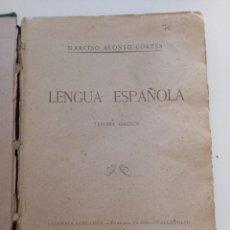 Libros antiguos: LENGUA ESPAÑOLA.. Lote 288634468