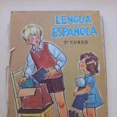Libros antiguos: LENGUA ESPAÑOLA. TERCER CURSO.. Lote 288636198