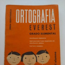 Libros antiguos: ORTOGRAFÍA CURSO 7º Y 8º.. Lote 288639083