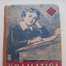 Libros antiguos: GRAMÁTICA ESPAÑOLA SEGUNDO GRADO.. Lote 288640663