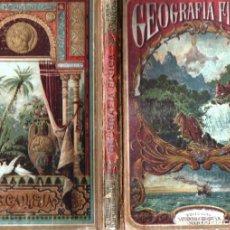 Libros antiguos: VELEZ DE ARAGÓN : NOCIONES DE GEOGRAFÍA FÍSICA (CALLEJA). Lote 288697553