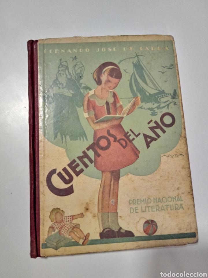 CUENTOS DEL AÑO. FDO J DE LARRA (Libros Antiguos, Raros y Curiosos - Libros de Texto y Escuela)