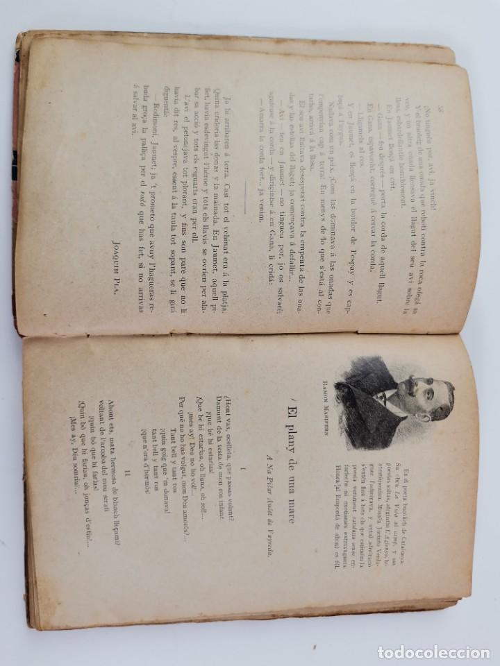 Libros antiguos: L-6089. APLECH , MODELS EN VERS Y PROSA DEL NOSTRE RENAIXEMENT. ANTON BUSQUETS Y PUNSET.1906. - Foto 9 - 289317453