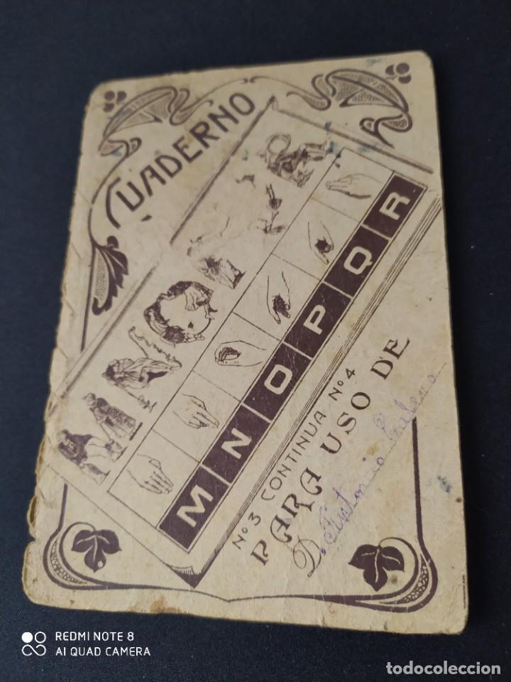 CUADERNO Nº 3 ARITMETICA PARA NIÑOS POR EMILIO ALVAREZ VILATA 1909 - 70 PAGINAS (Libros Antiguos, Raros y Curiosos - Libros de Texto y Escuela)