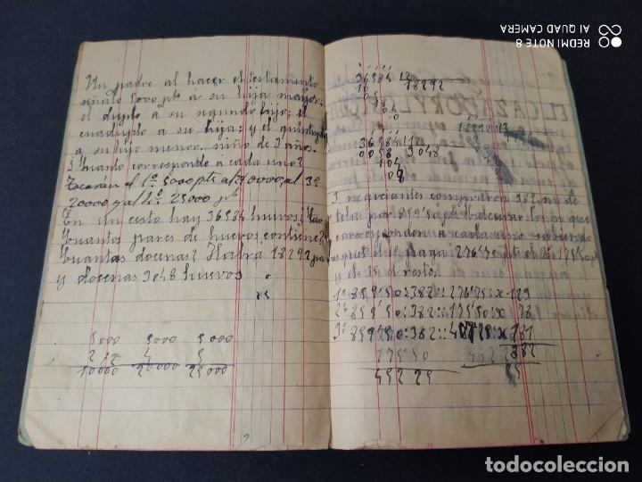 Libros antiguos: CUADERNO PARA USO AÑO 1918 - Foto 2 - 293676498