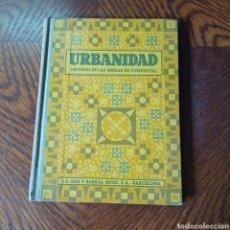 Libros antiguos: URBANIDAD ( EDTUDIO DE LAS REGLAS DE CONDUCTA ) ISABEL M. DEL CARMEN DE CASTELLVI Y GORDON 1936 SEIX. Lote 295621978
