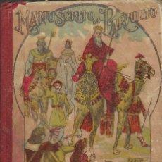 Libros antiguos: MANUSCRITO DEL PARVULITO -- POR ROQUE GRAU Y RIERA. Lote 295731243