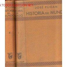 Libros antiguos: 1926.PIJOAN. HISTORIA DEL MUNDO. Lote 26502995