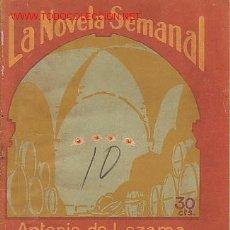 Libros antiguos: LA NOVELA SEMANAL, AÑO V. 20 DE JUNIO 1925. Nº 206. EL ARCO EN LA CUEVA, POR ANTONIO DE LEZAMA. . Lote 17194467