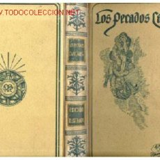 Libros antiguos: PECADOS CAPITALES.MONTANER Y SIMON. PERFECTO. Lote 26630173