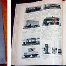 Libros antiguos: EL SISTEMA FERROVIARIO ACTUAL, TOMO III, 1912. Lote 27616770