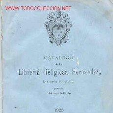 Libros antiguos: CATÁLOGO EDITORIAL. Lote 4891241