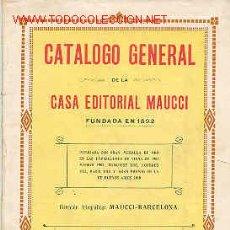 Libros antiguos: CATALOGO EDITORIAL. Lote 4733071