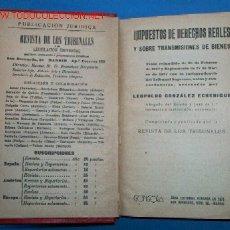 Libros antiguos: DERECHOS REALES. Lote 23884937