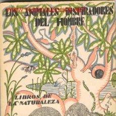 Libros antiguos: 1935.LOS ANIMALES INSPIRADORES DEL HOMBRE. Lote 1319071