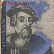 Libros antiguos: 1935. LOS CONQUISTADORES ESPAÑOLES. Lote 24490220