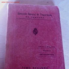 Libros antiguos: REGLAMENTO TÁCTICO DE INFANTERÍA, TOMO II. Lote 13670273