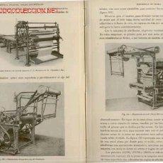 Libros antiguos - 1936 TEJIDOS ESPECIALES HERZOG GUSTAVO GILI ENCICLOPEDIA TEXTIL - 27416313