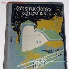 Alte Bücher - SOROA, José Ma. De - CONSTRUCCIONES AGRICOLAS - 1930 - 27639511