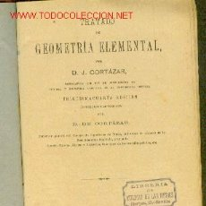 Libros antiguos: TRATADO DE GEOMETRIA ELEMENTAL. MADRID, 1905. Lote 21590546