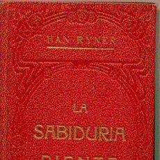 Livres anciens: LA SABIDURIA RIENTE. Lote 7175555