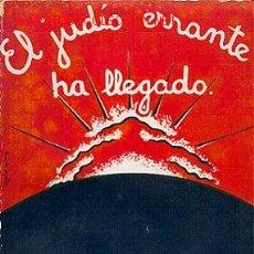 Libros antiguos: LIBRO SOBRE LOS JUDÍOS.. Lote 27603849