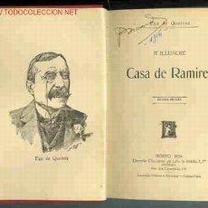 Libros antiguos: EÇA DE QUEIROZ / A ILLUSTRE CASA DE RAMIRES. PORTO, 1924. Lote 10079487